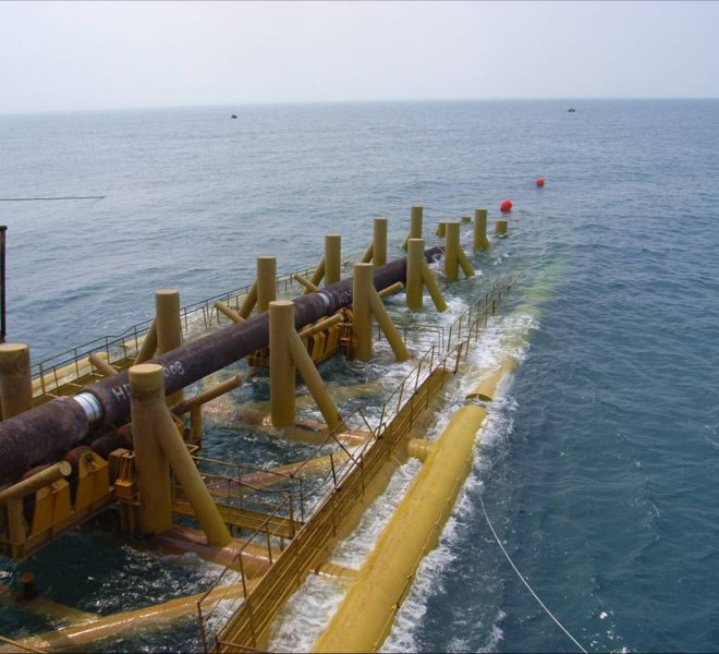 South Sumatra West Java 2 Gas Pipe Line Project
