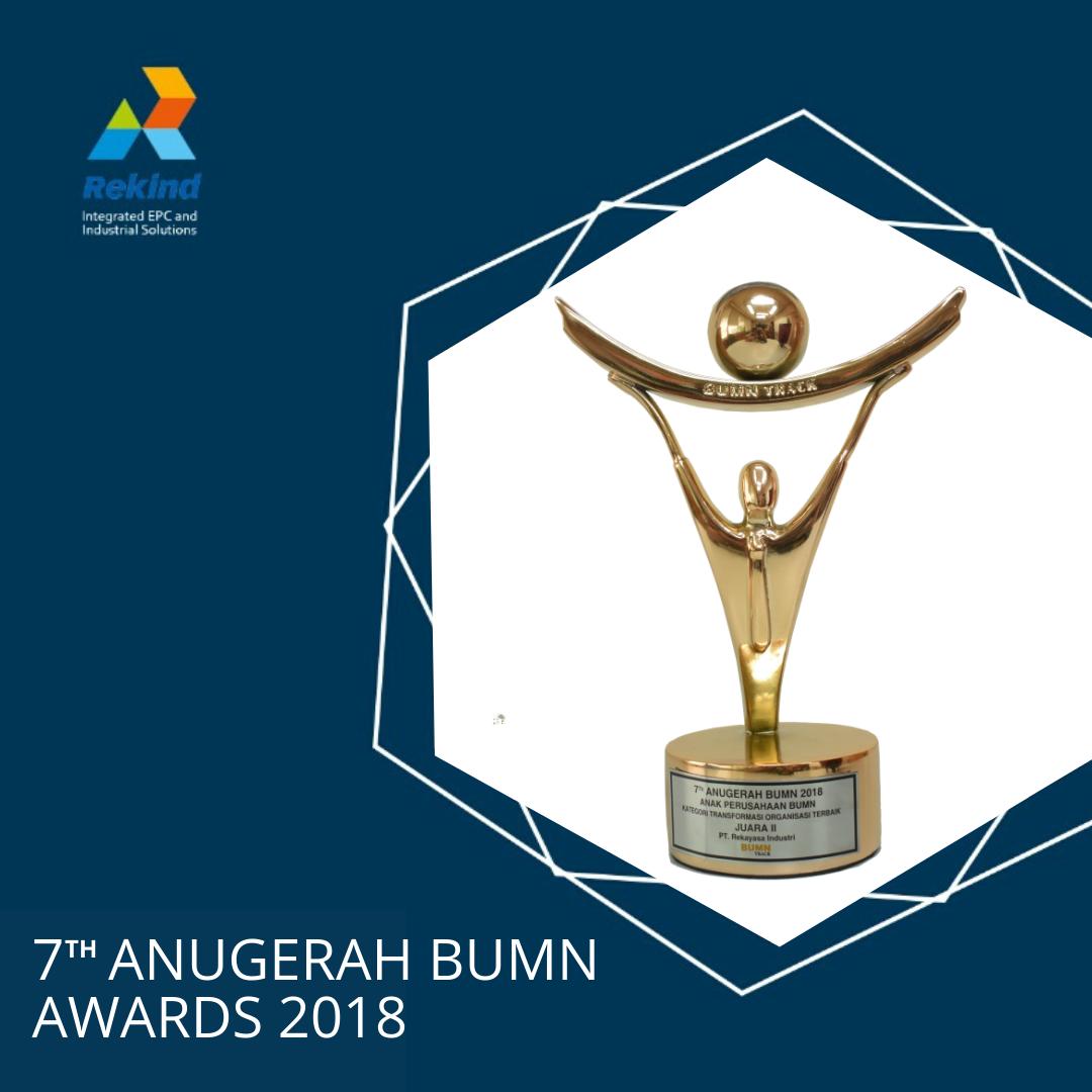 7th ANUGERAH BUMN AWARDS 2018