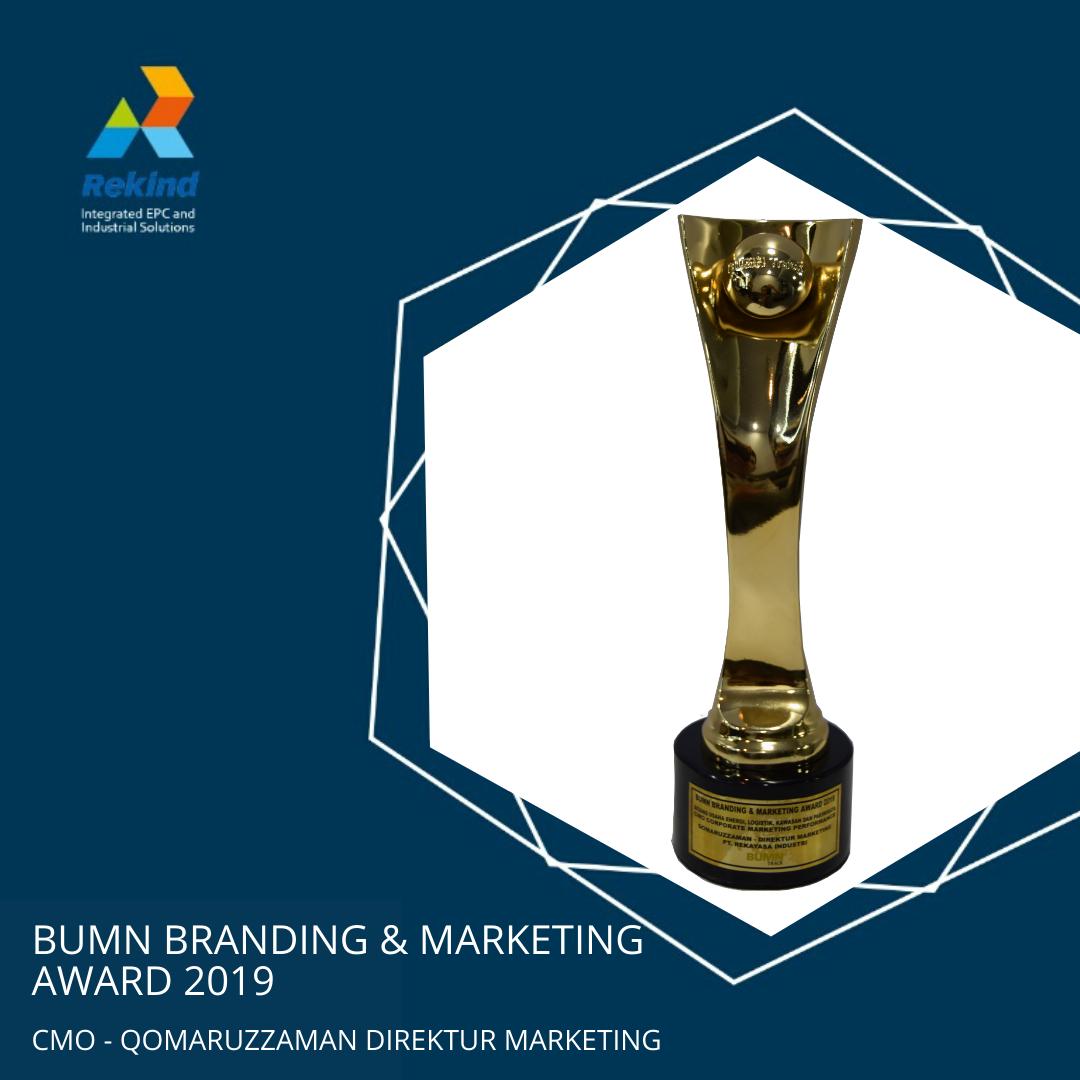 BUMN BRANDING & MARKETING AWARD 2019_CMO_QOMARUZZAMAN