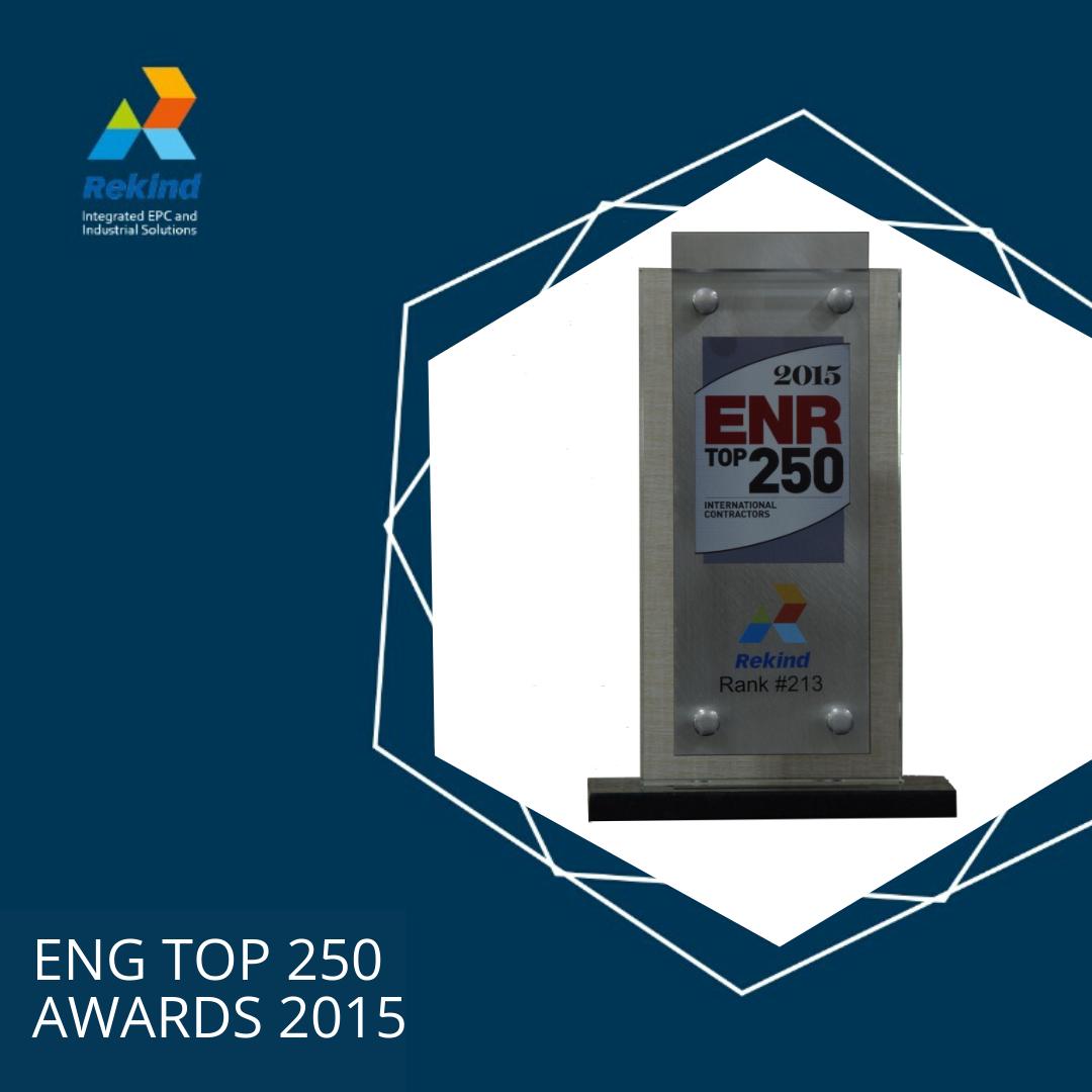 ENG TOP 250 AWARD 2015
