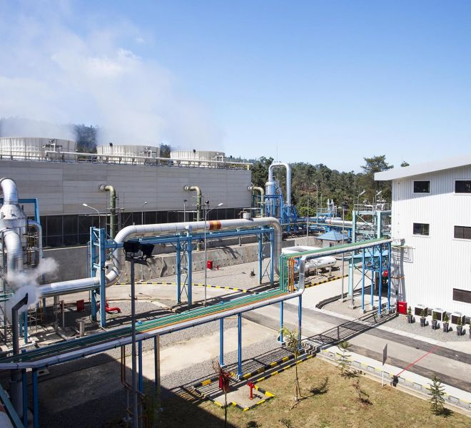 Total Geothermal Power Plant Project Kamojang - 5, 35 MW West Java
