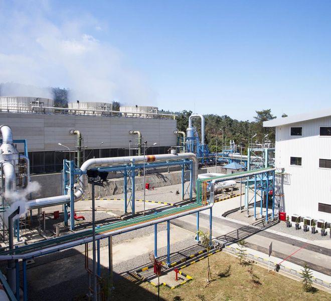 Total Geothermal Power Plant Project Kamojang - 5, 35 MW West Java
