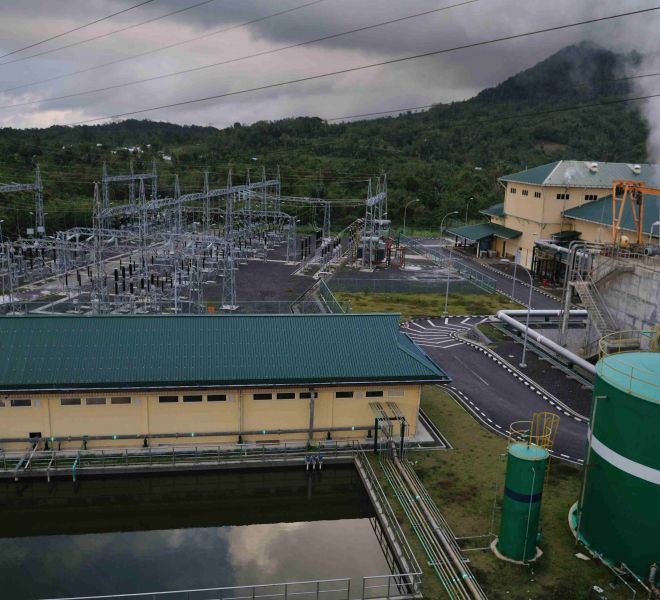 Lahendong 4 Geothermal Power Plant Project 1 x 20 MW, Tomohon, North Sulawesi