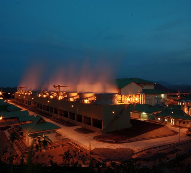 Ulubelu Geothermal Power Plant Project 2 x 55 MW