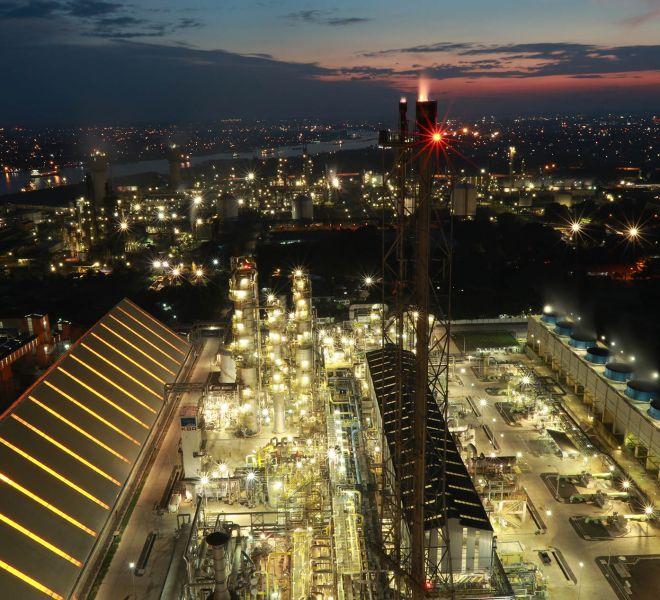 PUSRI IIB Ammonia and Urea Plant Capacity : - NH3 2,000 t/day - Urea 2,750 t/ day